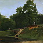Camille Corot – Banks of the Stream near the Corot Property, Ville d'Avray, Metropolitan Museum: part 3
