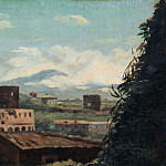 Metropolitan Museum: part 3 - Pierre-Henri de Valenciennes - View of the Colosseum, Rome
