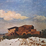 Metropolitan Museum: part 3 - Pierre-Henri de Valenciennes - Landscape with the Pyramid of Gaius Cestius, Rome