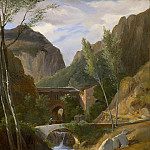 Antoine-Félix Boisselier – The Gorges at Amalfi, Metropolitan Museum: part 3