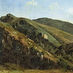 Metropolitan Museum: part 3 - Léon Fleury - Hilly Landscape with Sheep