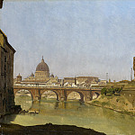 Gustaf Söderberg – Rome with St. Peter's and the Castel Sant'Angelo, Metropolitan Museum: part 3