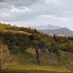 Fritz Petzholdt – German Landscape with View towards a Broad Valley, Metropolitan Museum: part 3