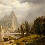 Metropolitan Museum: part 3 - Albert Bierstadt - Merced River, Yosemite Valley