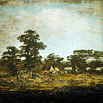 Ralph Albert Blakelock – An Indian Encampment, Metropolitan Museum: part 3