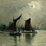 Metropolitan Museum: part 3 - Frank Myers Boggs - On the Thames