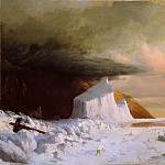 William Bradford – An Arctic Summer: Boring Through the Pack in Melville Bay, Metropolitan Museum: part 3