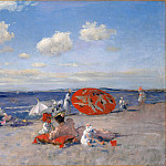 Metropolitan Museum: part 3 - William Merritt Chase - At the Seaside