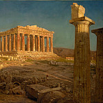 Frederic Edwin Church – The Parthenon, Metropolitan Museum: part 3