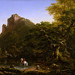 Metropolitan Museum: part 3 - Thomas Cole - The Mountain Ford