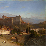 Samuel Colman – The Hill of the Alhambra, Granada, Metropolitan Museum: part 3