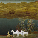 Metropolitan Museum: part 3 - Arthur B. Davies - Unicorns (Legend—Sea Calm)