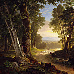 Asher Brown Durand – The Beeches, Metropolitan Museum: part 3