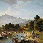 Asher Brown Durand – High Point: Shandaken Mountains, Metropolitan Museum: part 3