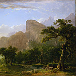 Asher Brown Durand – Landscape—Scene from Thanatopsis, Metropolitan Museum: part 3