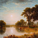 Asher Brown Durand – Summer Afternoon, Metropolitan Museum: part 3
