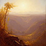 Metropolitan Museum: part 3 - Sanford Robinson Gifford - A Gorge in the Mountains (Kauterskill Clove)