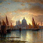Metropolitan Museum: part 3 - William Stanley Haseltine - Santa Maria della Salute, Sunset