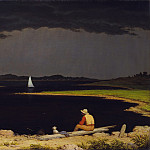 Metropolitan Museum: part 3 - Martin Johnson Heade - Approaching Thunder Storm