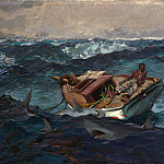 Winslow Homer – The Gulf Stream, Metropolitan Museum: part 3