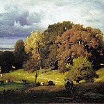 George Inness – Autumn Oaks, Metropolitan Museum: part 3