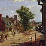 Metropolitan Museum: part 3 - Francis Blackwell Mayer - Old Annapolis, Francis Street