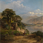 Thomas Moran – Lake Como, Metropolitan Museum: part 3