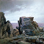 Metropolitan Museum: part 3 - William Trost Richards - A Rocky Coast