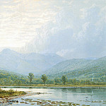 Metropolitan Museum: part 3 - William Trost Richards - Sunset on Mount Chocorua, New Hampshire