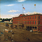 Metropolitan Museum: part 3 - William H. Schenck - The Third Avenue Railroad Depot