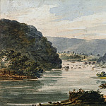 Pavel Petrovich Svinin – A View of the Potomac at Harpers Ferry, Metropolitan Museum: part 3