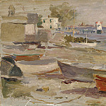 Metropolitan Museum: part 3 - Reynolds Beal - Shore at Orient, Long Island
