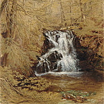 Metropolitan Museum: part 3 - William Rickarby Miller - Indian Falls, Indian Brook, Cold Springs, New York