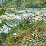 Childe Hassam – The Water Garden, Metropolitan Museum: part 3