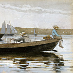 Winslow Homer – Boys in a Dory, Metropolitan Museum: part 3