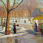 Metropolitan Museum: part 3 - William Glackens - The Green Car