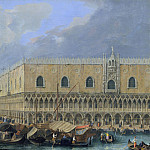 Luca Carlevaris – The Molo, Venice, from the Bacino di San Marco, Metropolitan Museum: part 3
