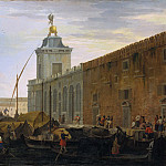 Metropolitan Museum: part 3 - Luca Carlevaris - The Bacino, Venice, with the Dogana and a Distant View of the Isola di San Giorgio
