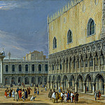 Metropolitan Museum: part 3 - Luca Carlevaris - The Molo, Venice, Looking West