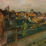 View of Saint-Valéry-sur-Somme, Edgar Degas