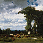 Metropolitan Museum: part 3 - Jules Dupré - Landscape with Cattle at Limousin