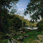 Metropolitan Museum: part 3 - Henri-Joseph Harpignies - The Rocky Path in the Morvan (Chemin des roches dans le Morvan)