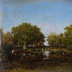 Metropolitan Museum: part 3 - Théodore Rousseau - The Pool (Memory of the Forest of Chambord)