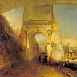 Joseph Mallord William Turner - Forum Romanum, Tate Britain (London)