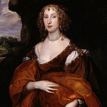 Tate Britain (London) - Sir Anthony Van Dyck - Portrait of Mary Hill, Lady Killigrew