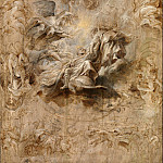Multiple Sketch for the Banqueting House Ceiling, Peter Paul Rubens