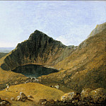 Richard Wilson - Llyn-y-Cau, Cader Idris, Tate Britain (London)