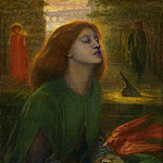 Dante Gabriel Rossetti – Beata Beatrix, Tate Britain (London)
