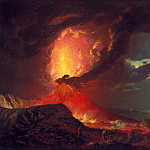 Joseph Wright of Derby – Vesuvius in Eruption, with a View over the Islands in the Bay of Naples, Tate Britain (London)