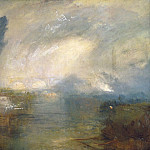 The Thames above Waterloo Bridge, Joseph Mallord William Turner